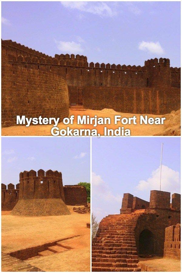 Mirjan Fort Near Gokarna Fort of