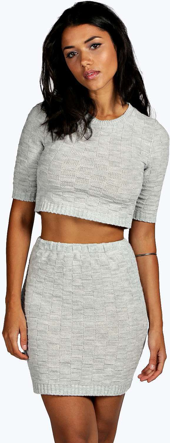 Womens silver jumper from boohoo.com - £10 at ClothingByColour.com