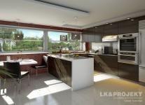 Projekty domów LK Projekt LK&689    wnętrze 4