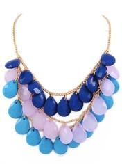 Trio Bauble NecklaceBeautiful Jewelry, Trio Baubles, Bubbles Bibs, Blue Bubbles, Baubles Necklaces, Beautiful Accessories, Fashion Jewelry, Bib Necklaces, Bibs Necklaces