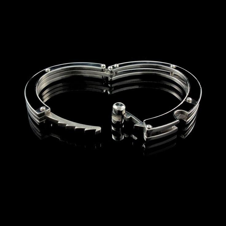 Bracelete Steel Collection Algema Carbonada