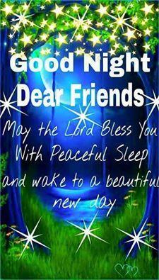 GOOD NIGHT DEAR FRIENDS !!!!