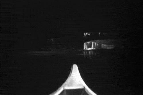 vintage oddities black and white gif