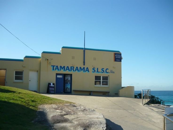 Tamarama SLSC.