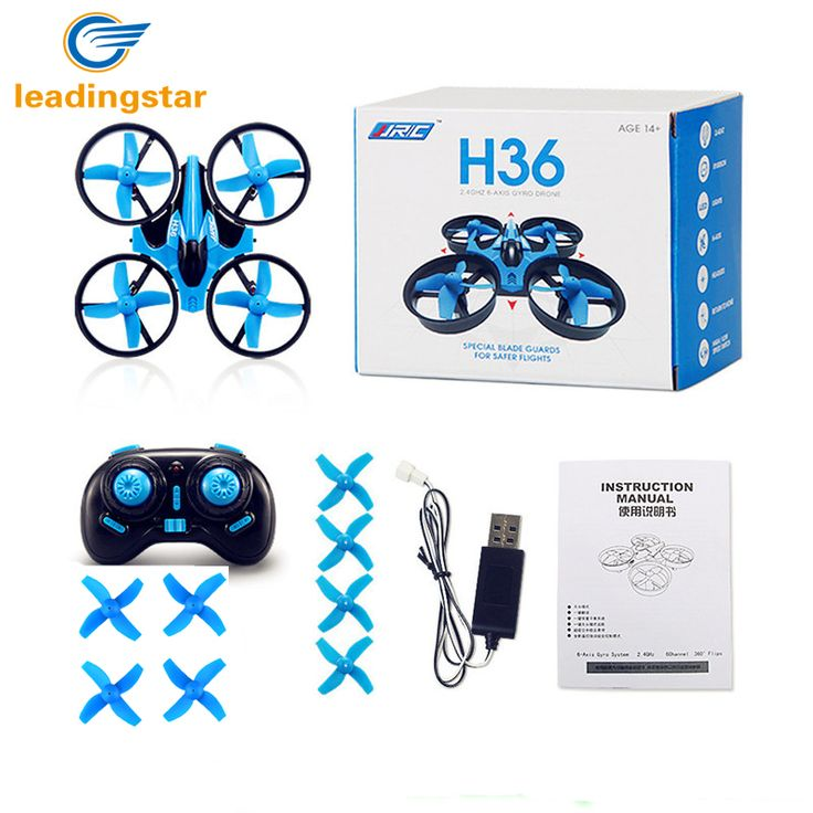 LeadingStar JJRC H36 RC Drone Mini Dron 2.4GHz 4CH 6 Axis Gyro RC Quadcopter with Headless Mode Drones Flying Helicopter For Kid //Price: $21.24//     #Gadget