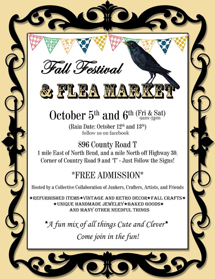 Craft Show Flyer Template Free