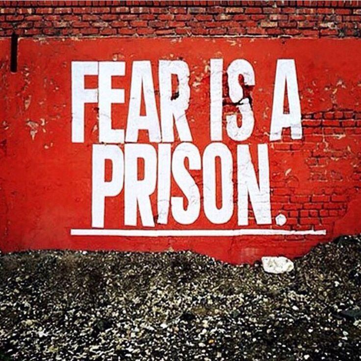 ~~> Actúa a pesar del miedo. #Libérate!