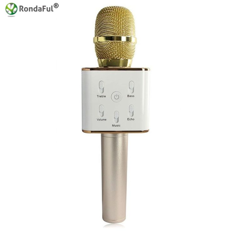 Hot Mini Wireless Condenser Microphone with Mic Karaoke Player Bluetooth Speakers KTV Singing Record for Smart Phones Computer