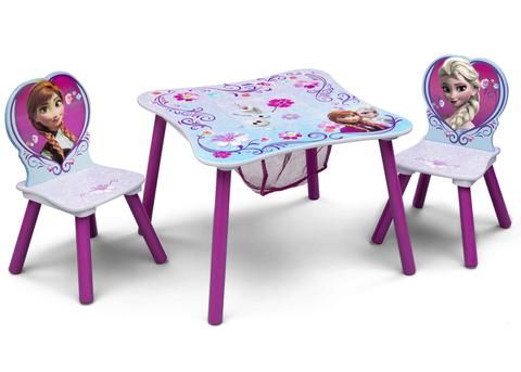 Frozen Table & Chair Set with Storage