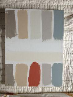 Adventures in painting benjamin moore paints (cumulus cloud, shaker beige, wedding chapel, kentucky haze, spiced appled cider, super white)