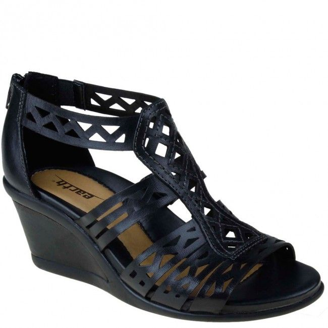 Gladiator meets tribal in the Earth Petal wedge sandal!