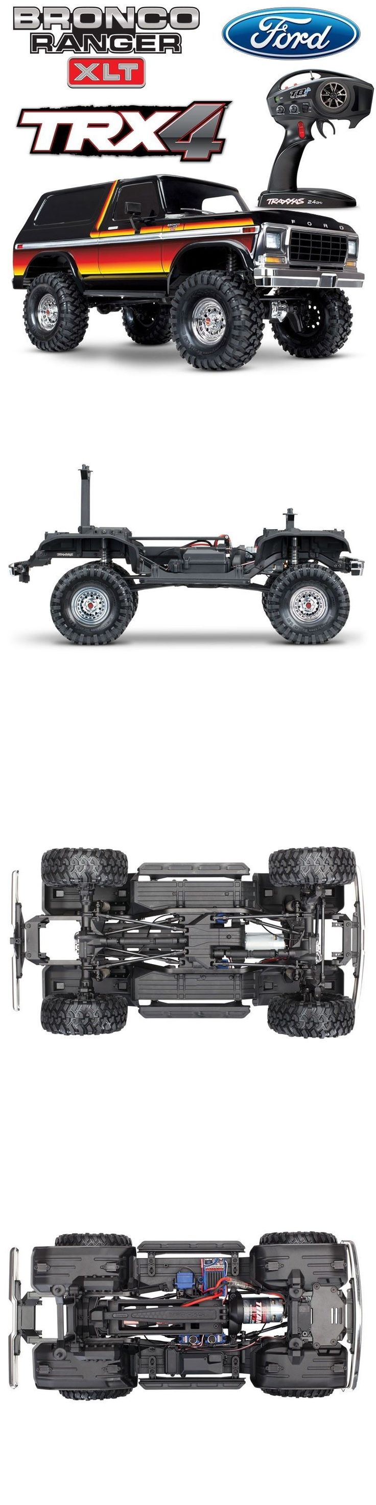 Details about NEW Traxxas TRX4 Ford Bronco Trail RC 4x4