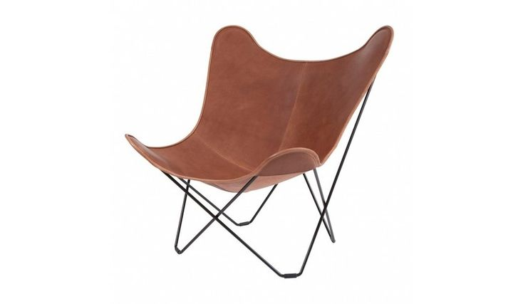 Pampa Mariposa Butterfly Chair Sessel | cuero | Klassiker | AmbienteDirect.com