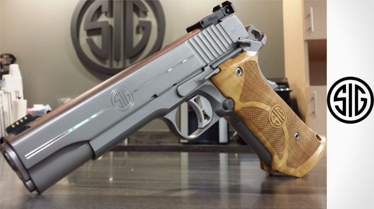 SIG Sauer 1911 Super Target in stainless and nitron finish