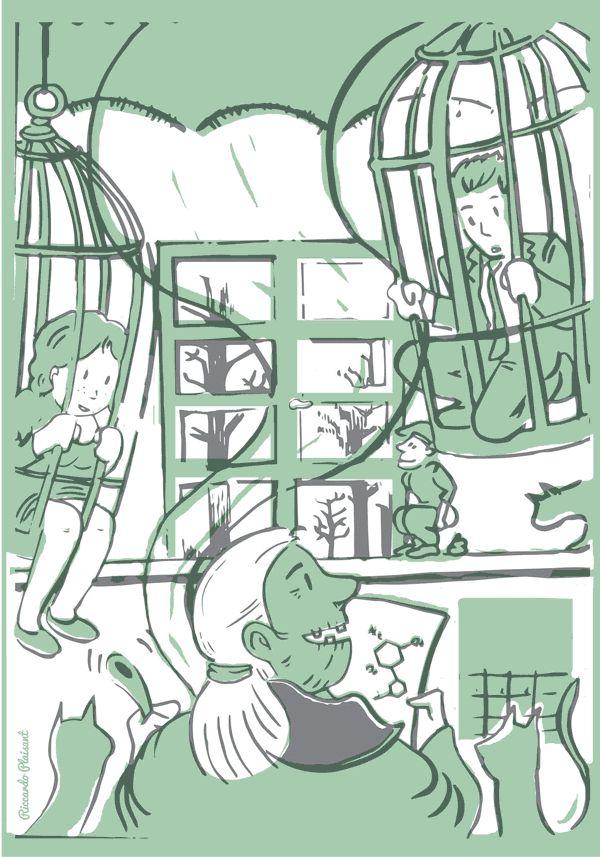 Lo que pide el mercado // Escritora Barbara Mura + Ilustrador Riccardo Plaisant #arroznegro