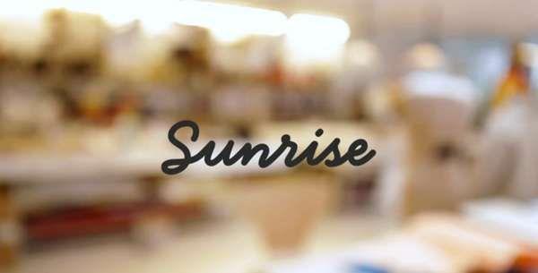 The Sunrise App Blends Social Media Into Your Digital Planning #calendar trendhunter.com