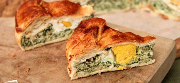 Torta Pasqualina: la #ricetta di un piatto tipico per la #Pasqua