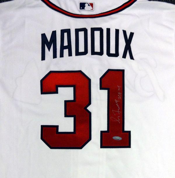 Greg Maddux Autographed Majestic Cool Base Atlanta Braves Jersey PSA/DNA