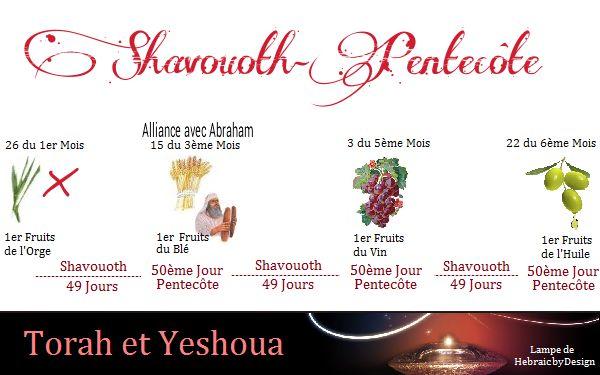 Prémices de l'Orge Décompte pour Shavouoth-Pentecôte Ce Dimanche 16 Avril 2017 - Ephraïm et Juda en Yeshoua