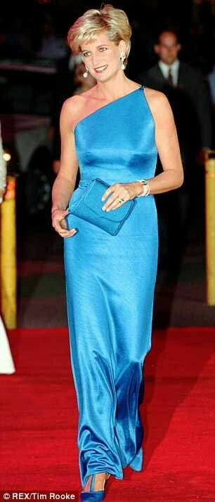 "Princess Diana - beautiful, classy and elegant - a true "" Lady"" and fashion icon. I always looked forward to seeing what she was wearing next... She is loved."