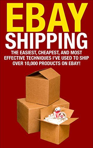 FREE TODAY      Amazon.com: eBay Shipping: The Easiest, Cheapest, and Most effective Techniques I've Used to Ship over 10,000 Products on eBay! (selling on ebay, shipping on ebay, ... business, how to ship items on ebay, ebay) eBook: Paul Addison: Kindle Store