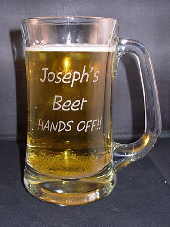 beer mugs | Personalized Engraved Beer Mugs and Pilsner Glasses