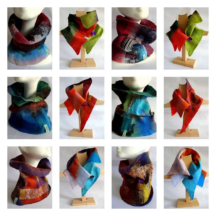 Cowls and Collars available at Buy Design Gallery by Heather Potten