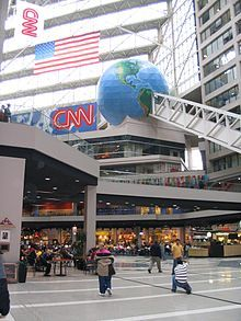 CNN Center, Atlanta, Georgia... Didn't get to see my man Anderson Cooper! Maybe next time for sure