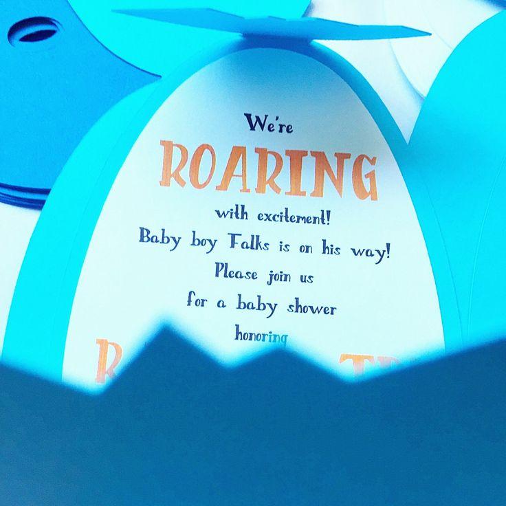 115 best Baby shower ideas images on Pinterest | Dinosaurs, Dinosaur ...