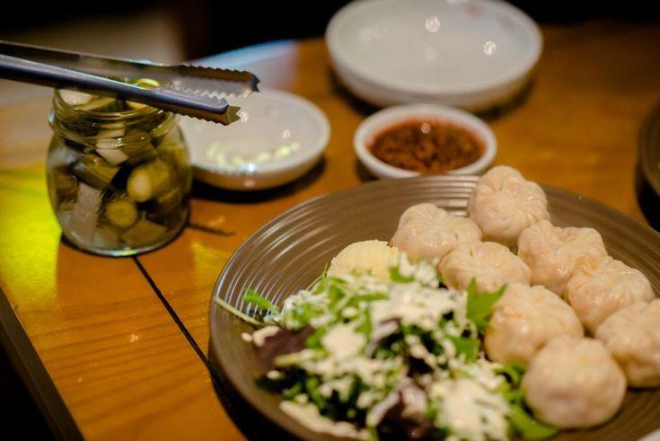 Mandu.Steamed kimchi mandu. InDaily. Review. Adelaide.