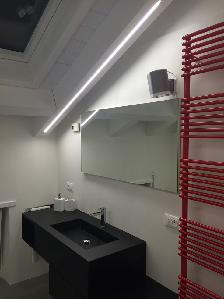 32 best images about realizzazioni residenziale on pinterest lighting design led and cameras - Illuminazione bagno led ...