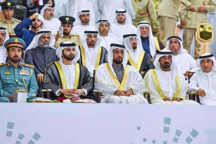 Fran Cast 🇦🇪 H.H Sheikh Hamdan bin Mohammed bin Rashid Al Maktoum, attends the graduation ceremony of the 26th batch of Dubai Police Academy. 08...