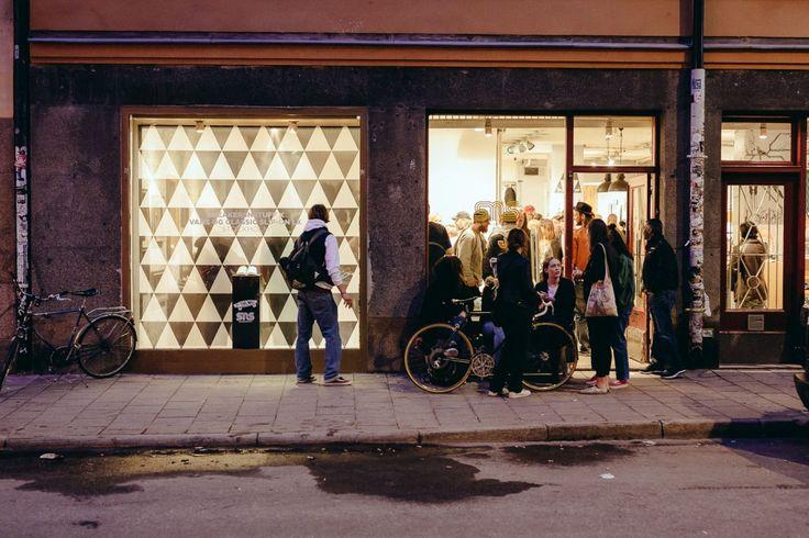 Sneakersnstuff x Vans release party at Sneakersnstuff Stockholm