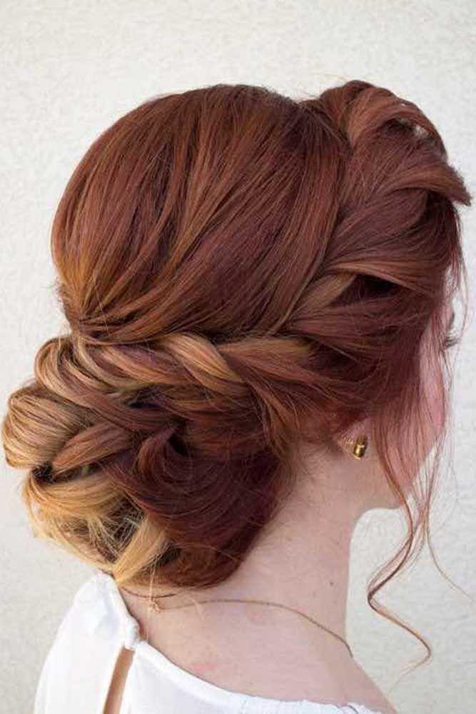 Peachy 1000 Ideas About Bridesmaids Hairstyles Down On Pinterest Short Hairstyles Gunalazisus