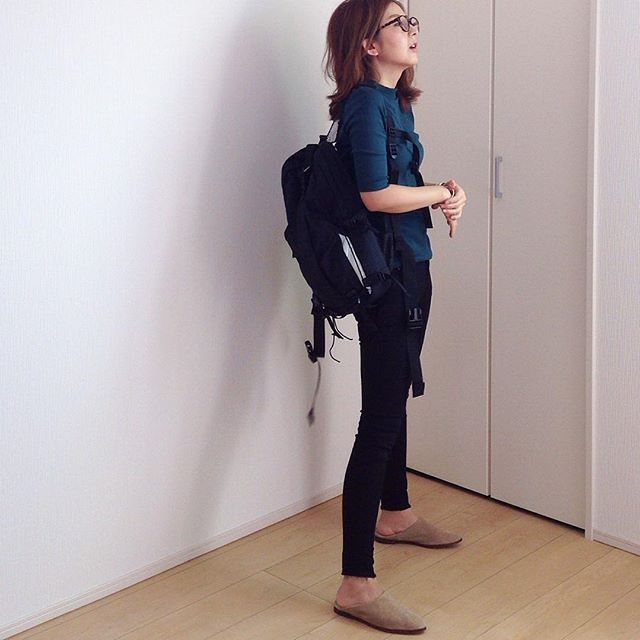 tops #uniqlo pants, shoes #zara bag #porter