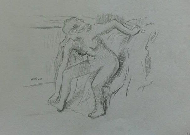 Tekening Degas.