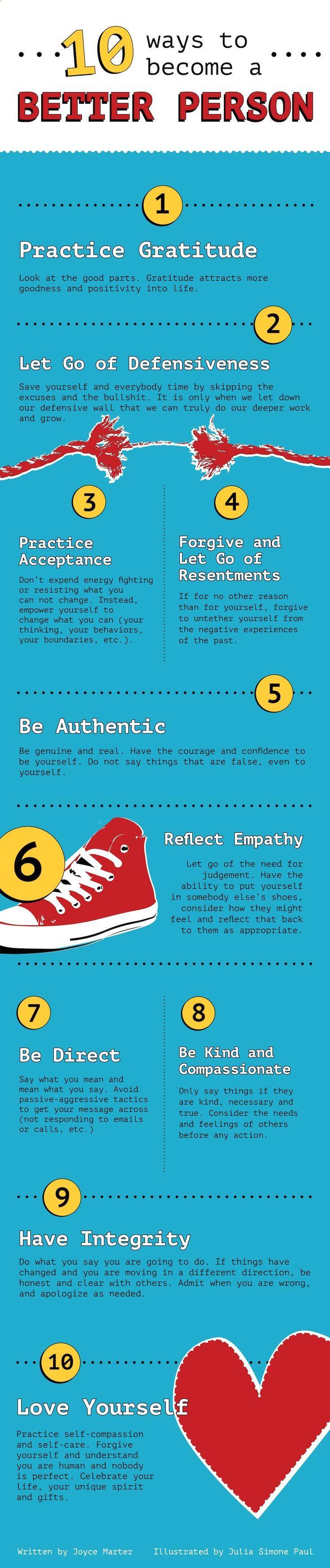 Ways of enjoying life more - infographic
