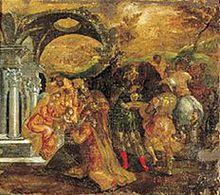 Adoración de los Reyes Magos, 1565-1567