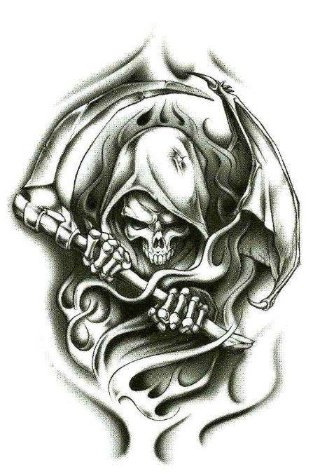 38 best images about skull tattoos on pinterest skull. Black Bedroom Furniture Sets. Home Design Ideas