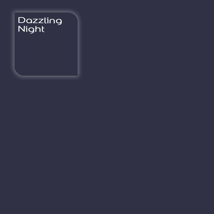 Flexa Creations kleur: Dazzling Night. Klik op de foto om een Flexa Kleurstaal in deze kleur te bestellen. Vooraf de kleur op de muur in je kamer zien geeft vertrouwen.