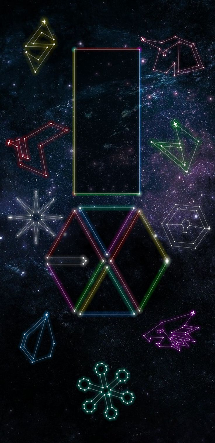 EXO CONSTELLATION SAMSUNG S8 WALLPAPER (© exoslotto) •do not edit• insta : ohsorryprue / spam - pruesorryoh hi feel free to use my creation and give me feedback on how it is :) if you want your personal wallpaper , please ask me if you want but i am still practicing on my creativity because i suck at being creative haha . please go message me here or on instagram if you will !
