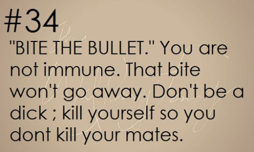 Zombie Apocalypse Survival Tip #34