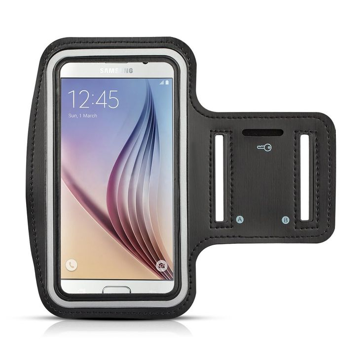 Gym Running Jogging Sport Armband for Samsung Galaxy S6 / Samsung Galaxy S6 Edge / Samsung Galaxy S5 / Samsung Galaxy S4 / Samsung Galaxy S3 (Black). Design specifically for Samsung Galaxy S6 / Samsung Galaxy S6 Edge / Samsung Galaxy S5 / Samsung Galaxy S4 / Samsung Galaxy S3. Provide excellent protection during sport, such as running, biking, jogging, walking, working out etc. Easy and convenient for carrying. Built in screen protector allows touch screen function without removing phone…