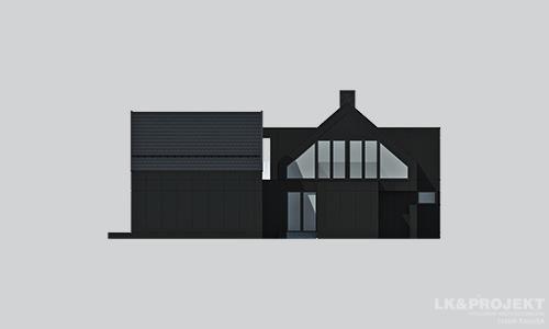 Projekty domów LK Projekt LK&1324 elewacja 2