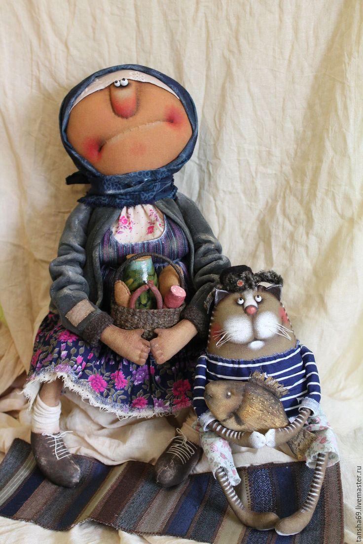 Купить Под санкциями!... - комбинированный, текстильная кукла, ароматизированная кукла, интерьерная кукла, деревенский стиль