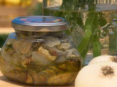 Zucchine alla scapece sott'olio | Conserve di casa