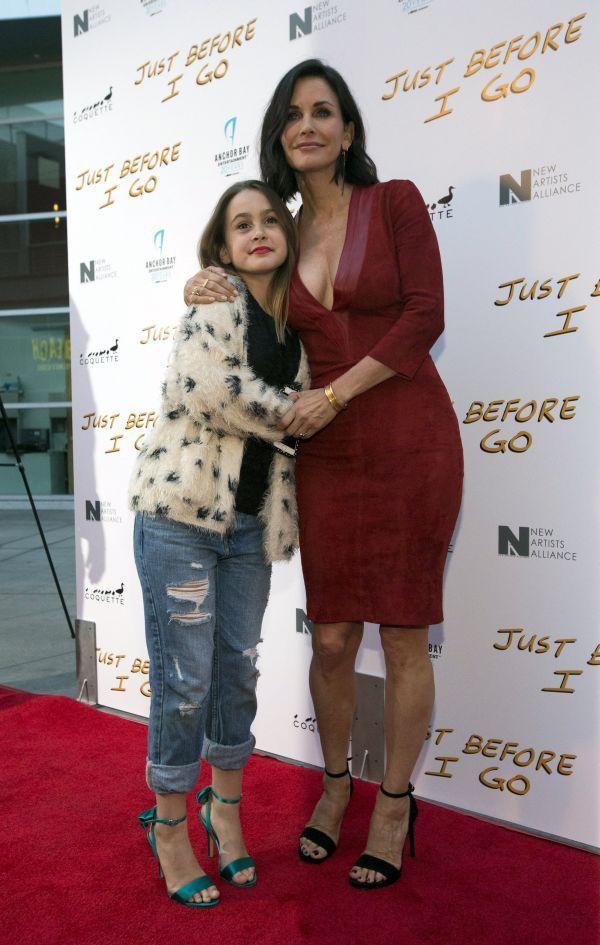 Courteney Cox a jej dcéra Coco Arquette