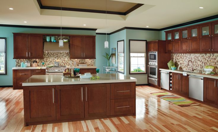 Cabinets Doors Style, Kitchens Cabinets, Cherries Woods, Kitchen