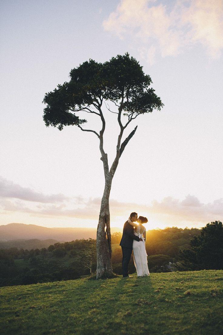 Maleny Wedding photography - Leesa and Leland's wedding