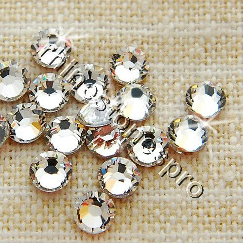 Ss12 Swarovski Elements Ясно (001) 432 шт. 12ss Плоской Задней Кристалл